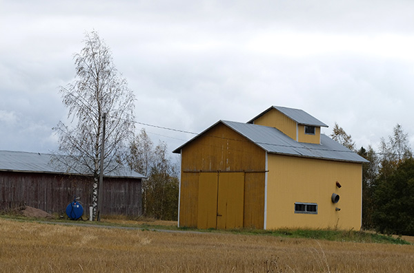 Favourite yellow barn