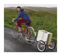 A larger boxed version contains work from the whole year, and was designed to be transported by bike out of the valley visiting various schools and arts venues before being exhibited at Northern Print, Newcastle.